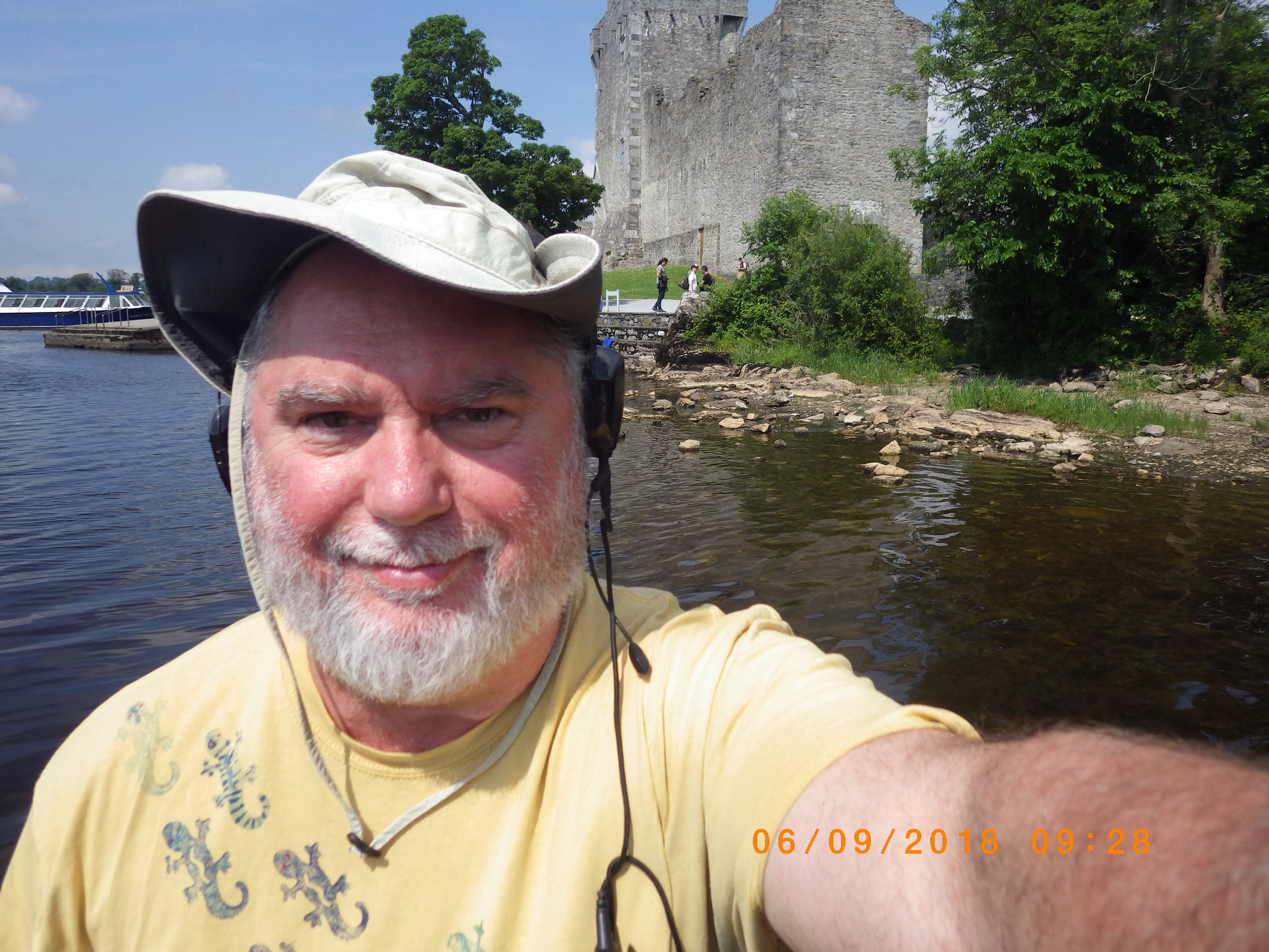 Rodney Rountree at Ross Castle Ireland
